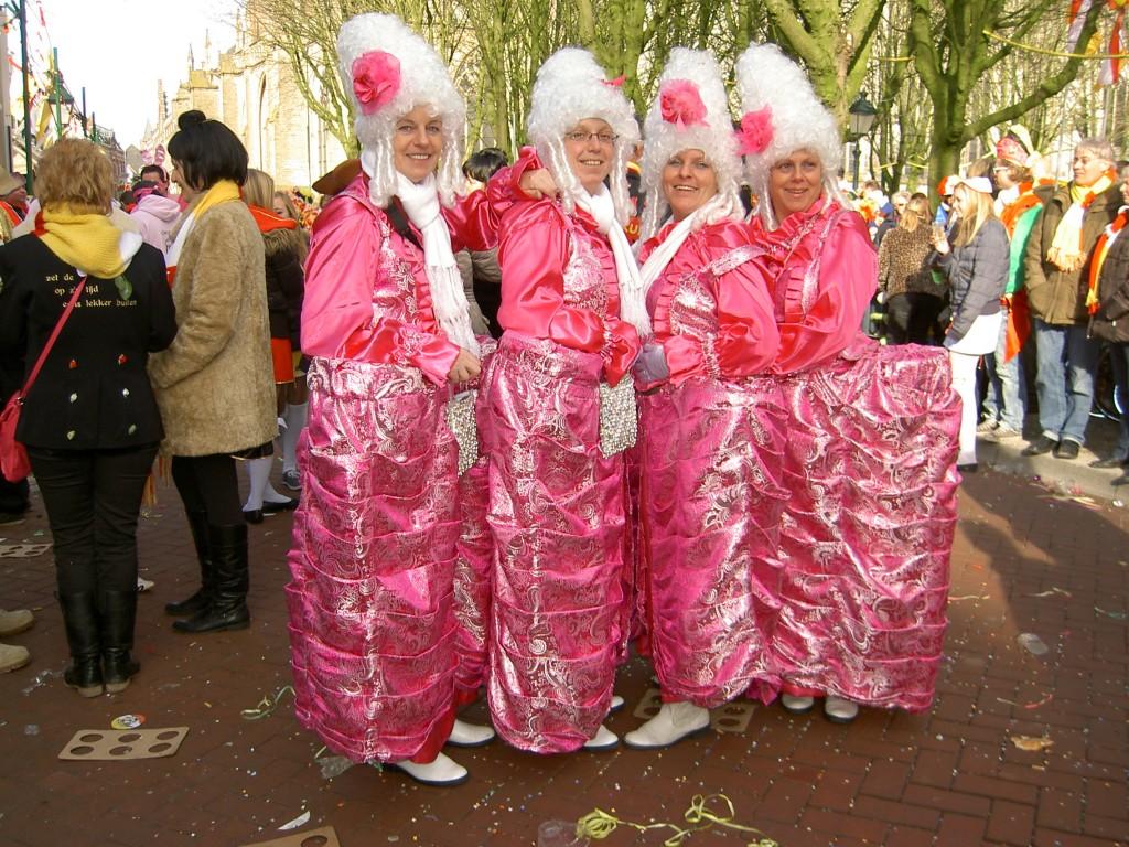 De roze dames